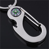 metal compass - 2015 Compass Keychain Alloy Nautical Compass Keychain Fashion Key Chains Charms Keychains Metal Keychain