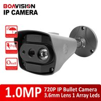 Wholesale HD P MP Bullet IP Camera POE fps Real time IR M Waterproof Outdoor Network CCTV Camera Support Onvif