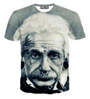 albert fashion - 2016 Albert Einstein tshirt for Women clothing Famous scientist Tops t shirts harajuku Ladies t shirt Creative D