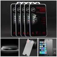 Wholesale For Samsung S7 S6 edge Tempered Glass Screen Protector mm Treated Glass iphone plus iPhone6 Samsung S3 S4 S5 S6 Note