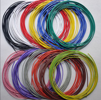 11 kind color electric cable - AWG Tinned Copper Electric Wire Cable Enameled American Standard Wire environmental DHL