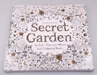 Wholesale 2015 Coloring Book high copy Secret Garden Adult Children Relax Graffiti Painting Book