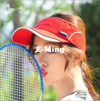 Wholesale New Designer Fashion Outdoor Adults Sports Sun Visor Strapback Golf Hats For Men And Women Curved Mesh Summer Hat Wide Brim Beach Cap