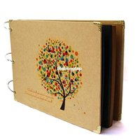 Wholesale 1509 New Hot inch DIY photo album Card Type Handmade Baby Lovers Photo Collection DIY Pages