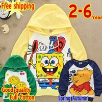bear kitten - new fashion Autumn boys girls years old clothes Bear Sweater Winter Hedging hoodies Kitten long sleeve