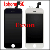 Wholesale Top Quality for iPhone C S G LCD Display With Original Touch Screen Frame Digitizer Assembly Replacement White Black
