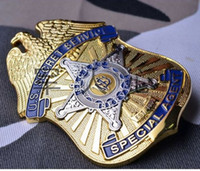 Wholesale The United States Secret Service bodyguard badge metal badge Medallion hanging chapter