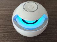 active loudspeakers - AJ Mini Active Bluetooth Stereo Speakers mini speaker bluetooth speaker With Micphone LED Light loudspeaker surround sound free dhl