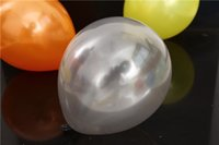 Wholesale 100 pieces inches g latex pearl balloons Silver balloon festival graduation supplies advertising balloons