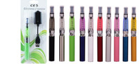 Wholesale eGo CE5 electronic cigarette starter Blister ego kit with CE5 no wick atomizer clearomizer for mAh ego t e cig battery
