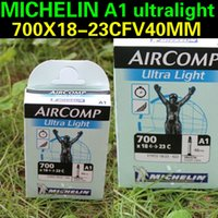 Wholesale Michelin MICHELIN A1 ultralight X18 C mouth ultralight road bike bicycle France stab tube