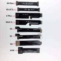 Wholesale LCD Touch Screen Digitizer Lens Flex Extension Testing Tester Cable For iPhone S For iPhone s s c s Plus