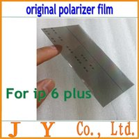 Wholesale original LCD Polarizer Film Polarization light Polaroid Film for Apple iPhone plus inch FreeShipping