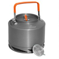 Wholesale Fire Maple FMC XT2 Portable Aluminum L Heat Collecting Exchanger Kettle Tea Coffee Pot Outdoor Camping Picnic Cookware H14780