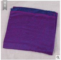Wholesale New winter high grade cotton twill scarf color available on both sides of oversized scarf factory outlets
