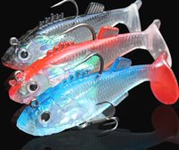 Wholesale Hot g Fishing lures sea fishing tackle soft bait lead fishing artificial bait jig wobblers rubber silicon