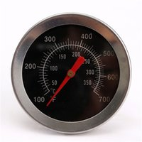 Wholesale Hot sale Stainless steel BBQ Accessories Grill Meat Thermometer Dial Temperature Gauge Gage Cooking Food Probe Household Kitchen Tools