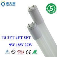 Cheap 9W 18W 22W Glass LED Tube T8 1200mm 1500mm 600mm LED Fluorescent Tube 1.2M t8 Lamp Light SMD 2835 Warm White Cool White