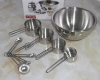 advanced export - Advanced stainless steel exports spoon cup mixing bowl beat egg pots Set bakeware Supplies