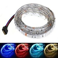 auto meter - New FT M LED SMD color RGB leds Meter Car Auto Decoration Flexible Strip Light V Lamp Waterproof TK1159