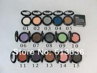 Wholesale news MC brand makeup eyes G single eyeshadow pigment different colors Monochrome eye shadow