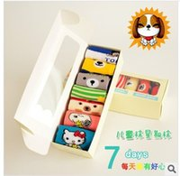 baby weekly - years old Cartoon baby cotton socks children s weekly socks cotton socks pairs