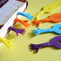 Wholesale 4pcs Novelty Bookmark THE BOOK MARK Help Me Funny Bookworm Gift Stationery Different Colors