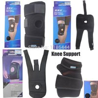 Wholesale New Adjustable Neoprene Open Patella Wrap Knee Support Brace Sleeve Black BRg