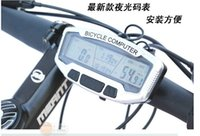 Wholesale Along the east authentic SD a bike spec route table odometer blue luminous clock function