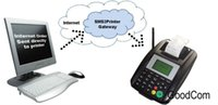 Wholesale Webserver SMS GPRS Printer remote order receipt printer widely used in restaurants takeaway food coffeeshops