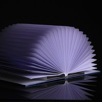 Wholesale Decorative USB Rechargeable Book Style LED Table Desk Lamp Light Bedside Book Reading Lamp for Living Room