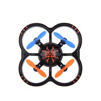 Wholesale Wooden Toys Children Toy U207 Axis Gyro Rc Helicopter ch Radio Controll Mini Quadcopter Ufo Toys Led Lights Black orange