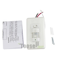 automatic wall switch - Home LED light PIR Infrared Motion Sensor Wall Switch Human Induction Save Energy Motion Automatic Module Light Sensing Switch