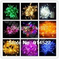 Wholesale Holiday Waterproof LED Light String RGB Christmas Xmas Wedding Party Lighting Decoration remote controller