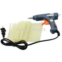 Wholesale Hot Sale New Hz W Blue Hot Melt Mini Glue Gun Glue Sticks V TK0898