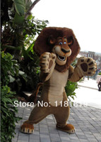 Wholesale madagascar lion mascot costume custom fancy costume anime cosplay kits mascotte theme fancy dress carnival costume