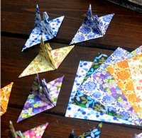 Wholesale 2015 new arrival vintage Origami Folding paper craft folding paper for kids