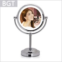 led light magnifying mirror - 1X X Led Makeup Mirror Inch Table Magnifying Mirror Professional Cosmetic Mirror With Soft Led Light