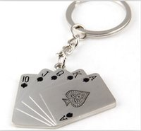 air poker - Cool Model poker Keychain Men Motorcycle Bicycle Casque Key Ring Alloy Key Fob For Gift Key Chain Keyring by post air