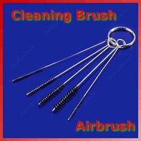 Eyebrow tattoo machine airbrush cleaner - OPHIR Set Air Brush Cleaning Tattoo Airbrush Kit Air Brush Spray Gun Tip Cleaning Brush Kit Clean Tools New_AC023 x