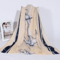 anchor gloves - new Large Size Korean Yarn Bali Conditioning Air Long Anchor Shawl Scarf