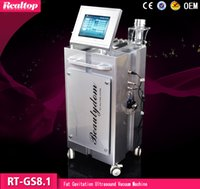 Wholesale Good effect shapping body vacuum lipo cavitation Slimmming machine fat cellulite removal fast Slimmming machine gel for stubborn fat
