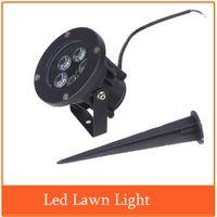 Wholesale Hot Sale AC85 V W Waterproof Light Led Green Industrial Pond Park Landscape Garden Lawn Lamp