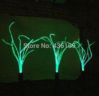 Новый !! Оптическое волокно Газон лампа, красочный привело солнечный свет на открытом воздухе, солнечный свет сада, солнечные панели с плавающей бассейн украшения