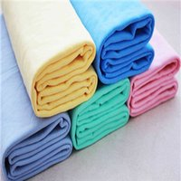 Wholesale 2015 Hot CM Super Absorption Synthetic Deerskin PVA Chamois Cham Car Wash Towel Auto Care Clean Towel