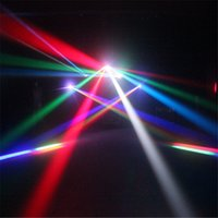 Wholesale 4 Color Moving Head Stage Laser Light DMX DJ Stage Christmas Xmas Party SUNY