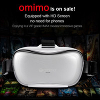 Wholesale Omimo Immersive Virtual Reality D Video Glasses Android Octa Core Cortex A7 CPU HDMI WiFi Bluetooth Digi Display Imax Eyewear order lt no t