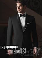 best girdles - Popular One Button Black Groom Tuxedos Shawl Lapel Groomsmen Best Man Wedding Prom Dinner Suits Jacket Pants Girdle Tie G5206