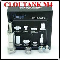 Cheap Cloutank M4 Airflow Control System Dry Herb & Wax 2 in 1 Vaporizer vs Cloupor cloutank M1 M2 M3 herbal vaporizers ego e cigarette