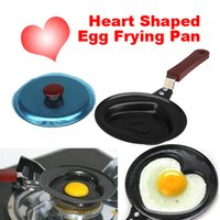 Wholesale Mini Heart Shaped Non sticky Egg Frying Pan New